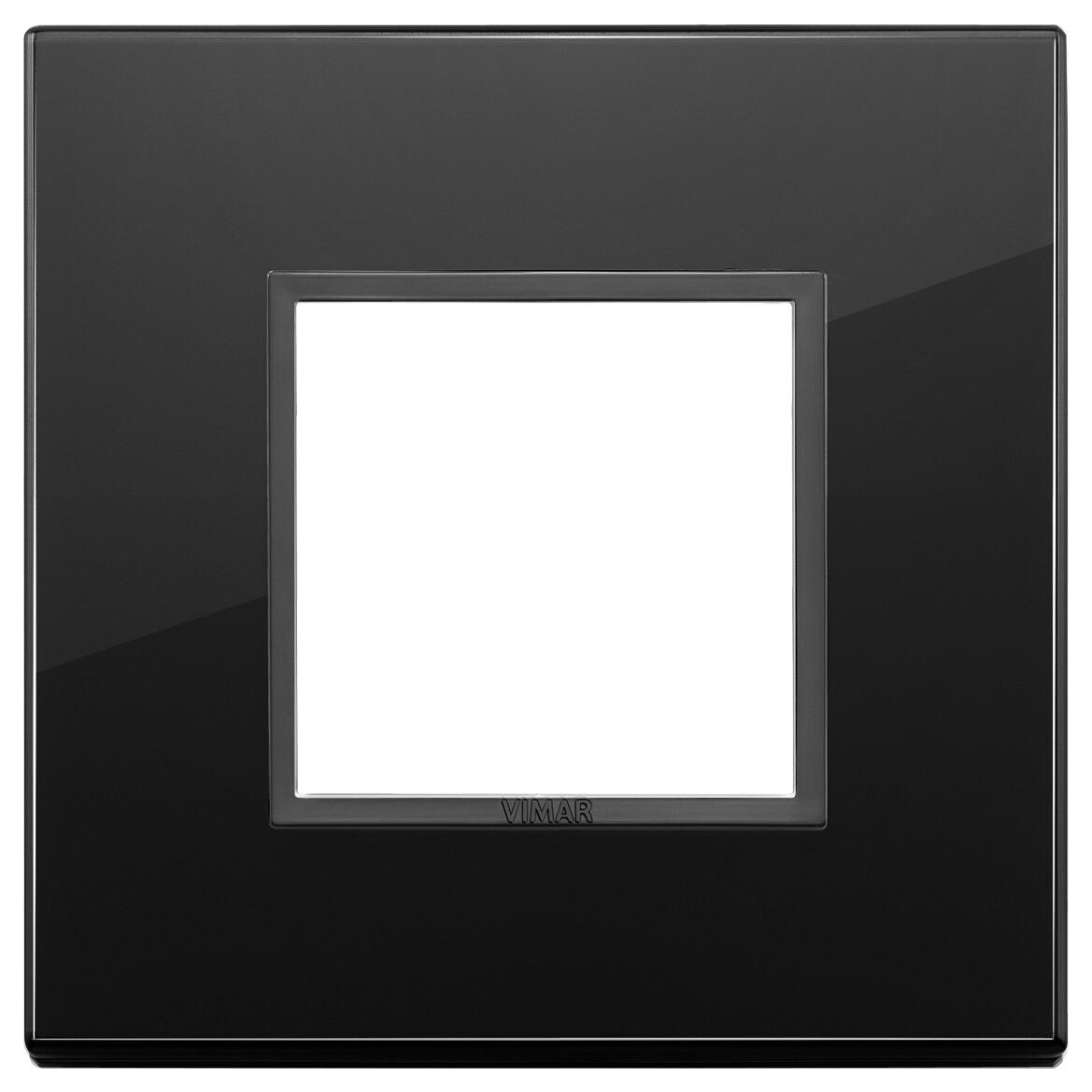 Накладка Evo на 2 модуля, полностью черный бриллиант