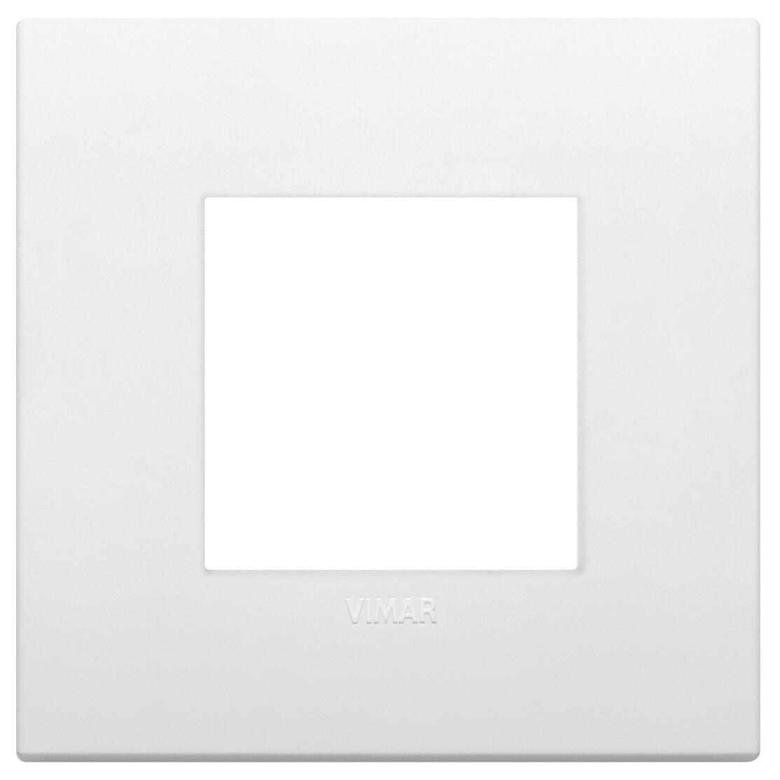 Накладка CLASSIC на 2 модуля белая
