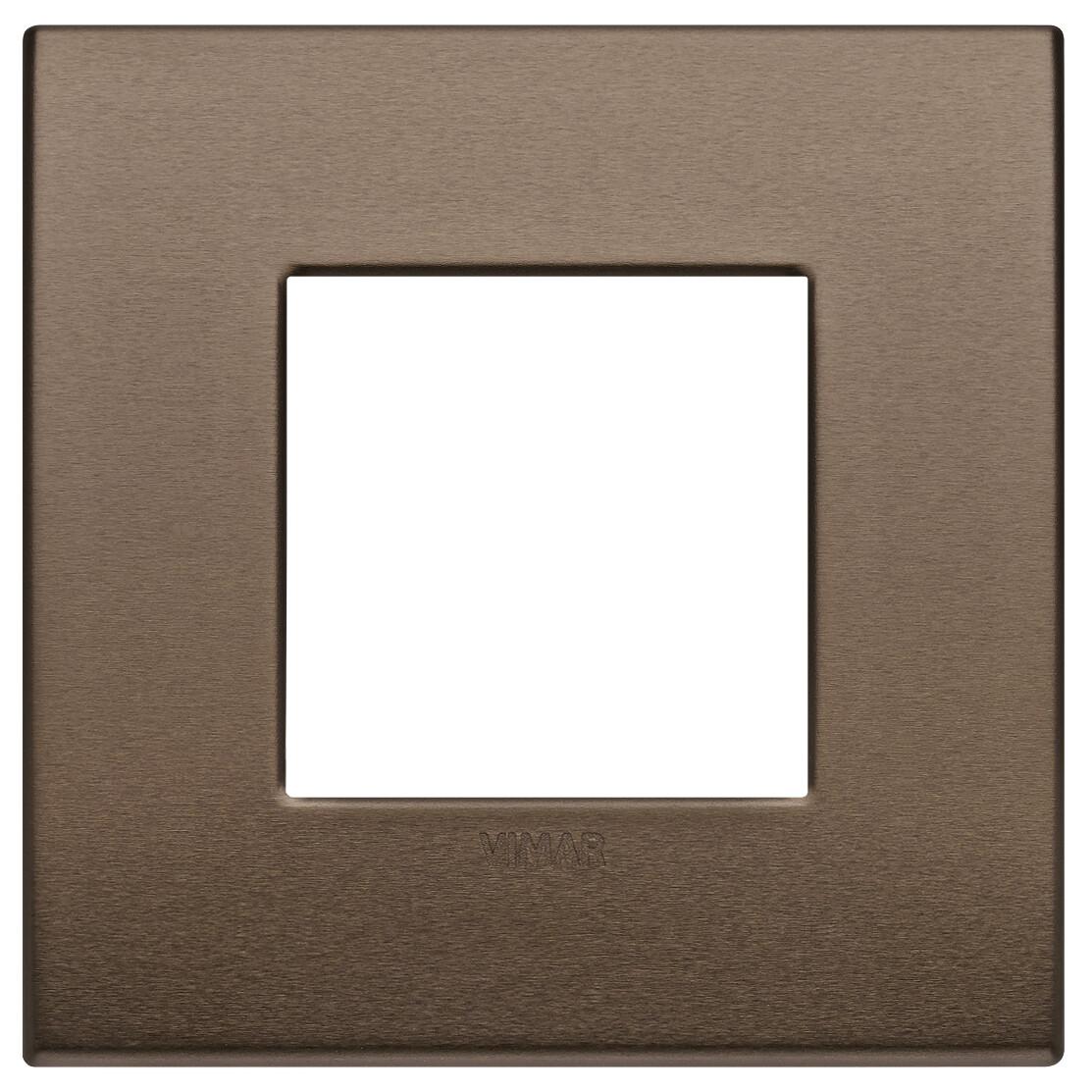 Накладка Classic на 2 модуля бронза темная