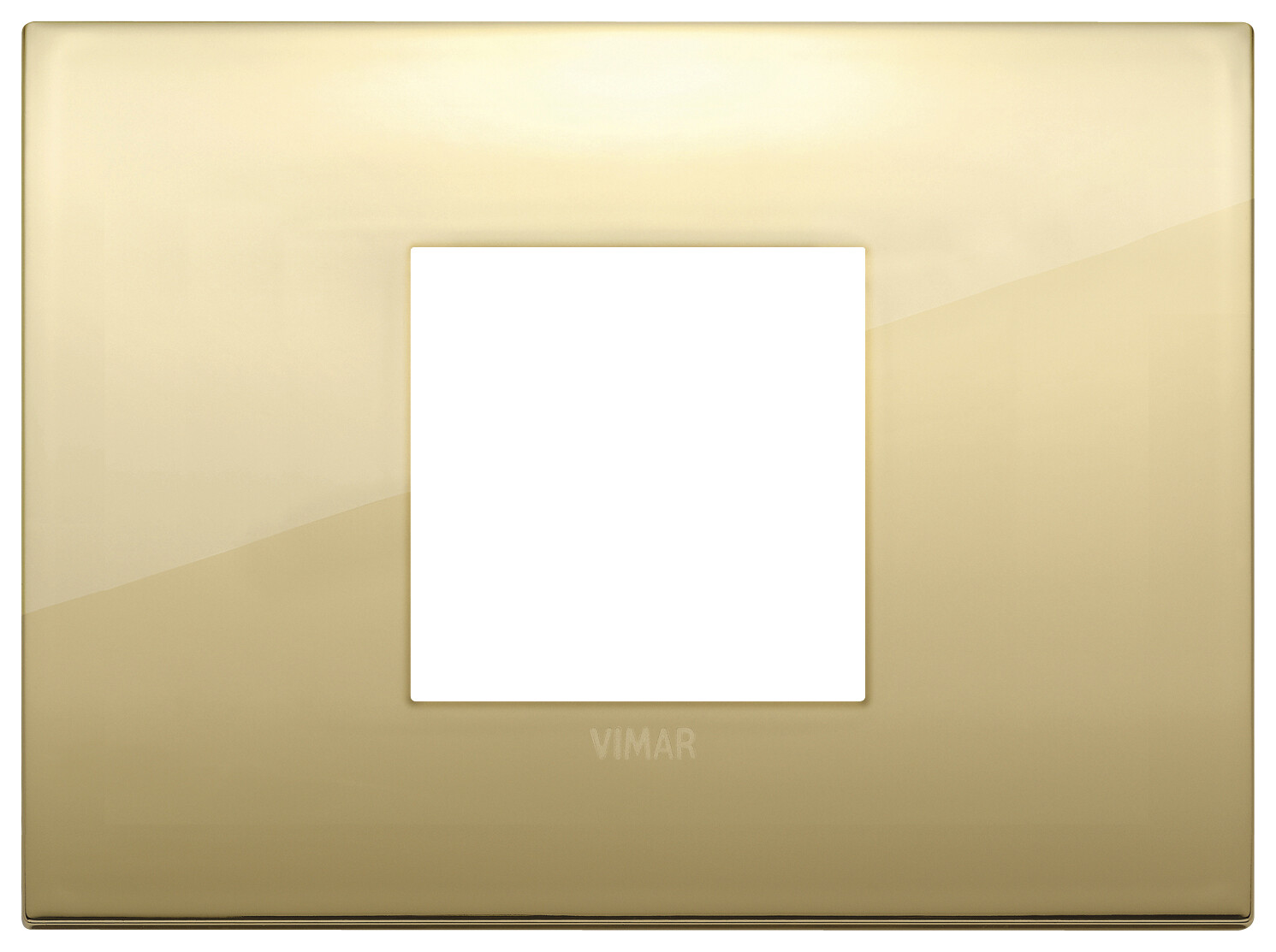 Накладка CLASSIC на 2 модуля центрально золото