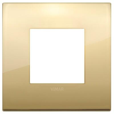 Накладка CLASSIC на 2 модуля золото