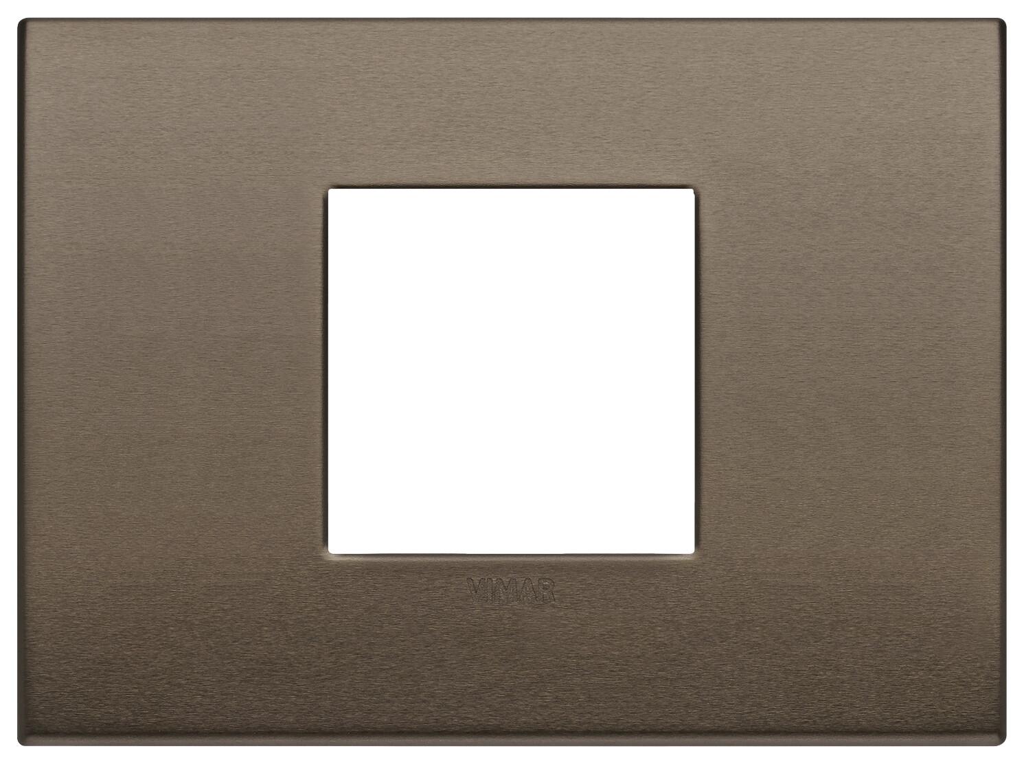 Накладка Classic на 2 модуляC бронза темная