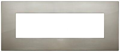 Накладка CLASSIC на 7 модулей сталь матовая