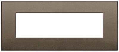 Накладка Classic на 7 модулей бронза темная