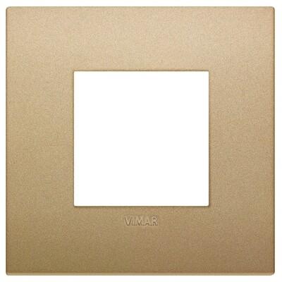 Накладка CLASSIC на 2 модуля золото матовое