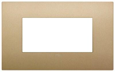 Накладка CLASSIC на 4 модуля золото матовое