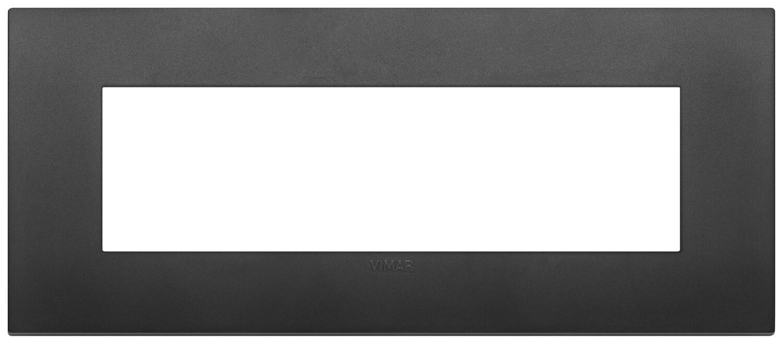 Накладка CLASSIC на 7 модулей черная