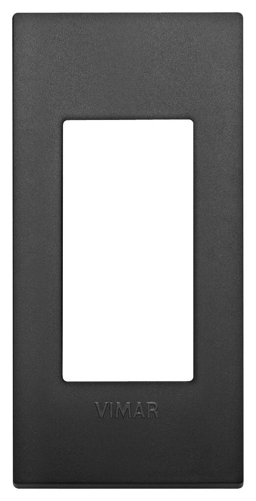 Накладка CLASSIC на 1 модуль для панелей черная