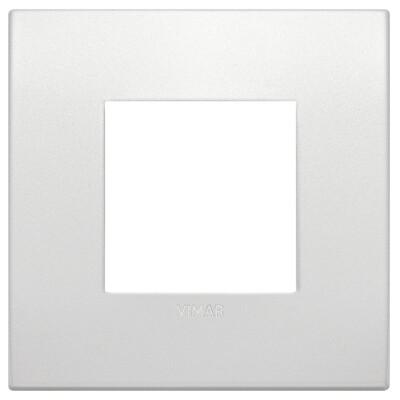 Накладка CLASSIC на 2 модуля жемчужная матовая