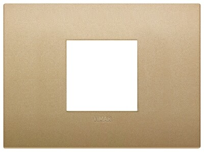 Накладка CLASSIC на 2 модуля центрально золото матовое
