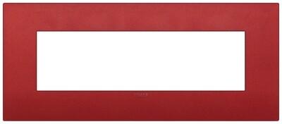 Накладка CLASSIC на 7 модулей красная матовая