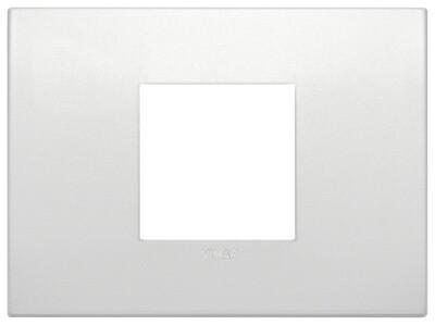 Накладка CLASSIC на 2 модуля центрально жемчужная матовая