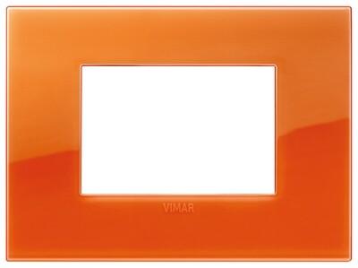 Накладка CLASSIC на 3 модуля Reflex оранжевый