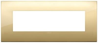 Накладка CLASSIC на 7 модулей золото
