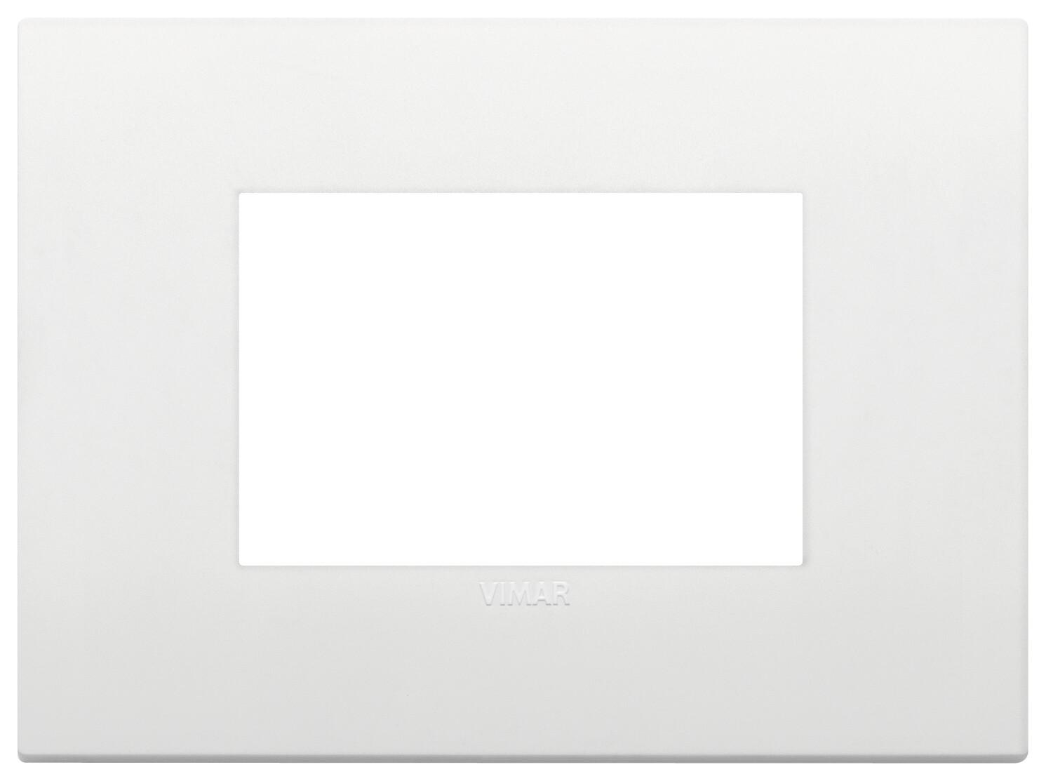Накладка CLASSIC на 3 модуля белая