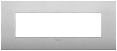 Накладка CLASSIC на 7 модулей серебро матовое