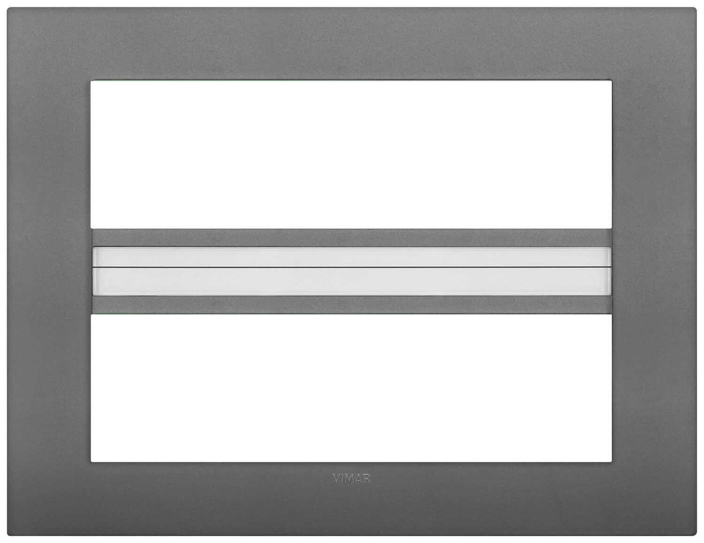 Накладка CLASSIC на 14 модулей серая