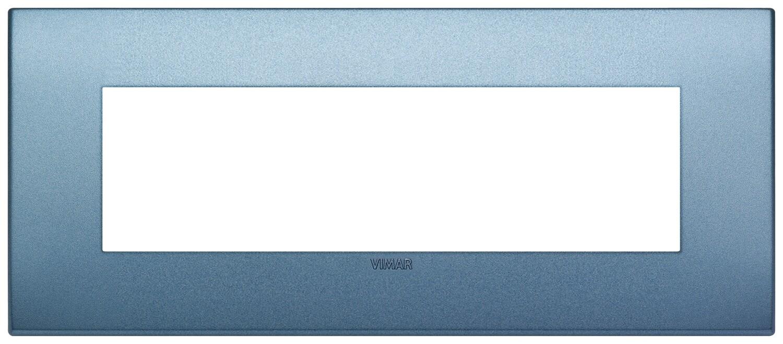 Накладка CLASSIC на 7 модулей синяя матовая