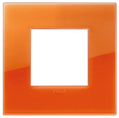 Накладка CLASSIC на 2 модуля Reflex оранжевый