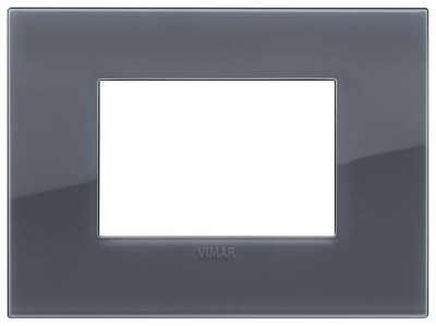 Накладка CLASSIC на 3 модуля Reflex серый дым