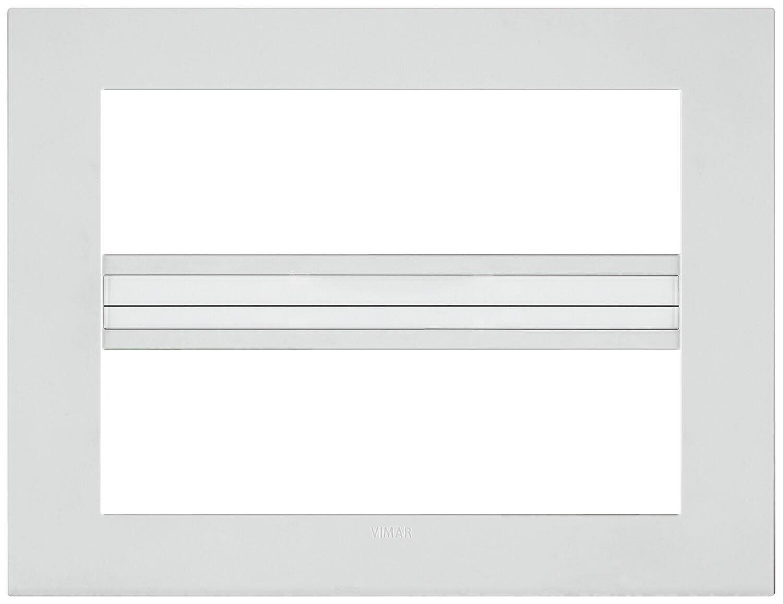 Накладка CLASSIC на 14 модулей белая