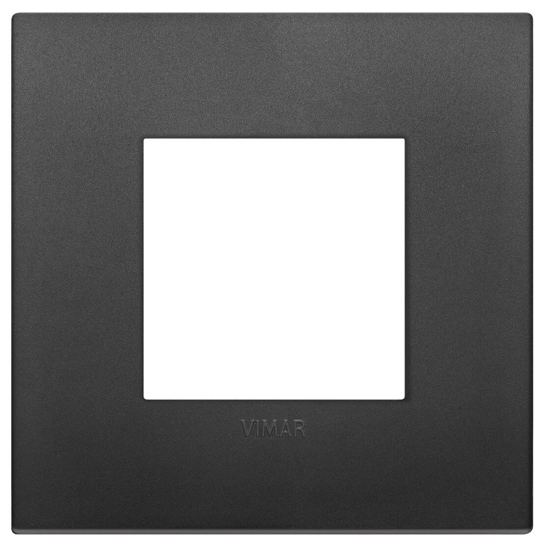 Накладка CLASSIC на 2 модуля черная