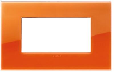 Накладка CLASSIC на 4 модуля Reflex оранжевый