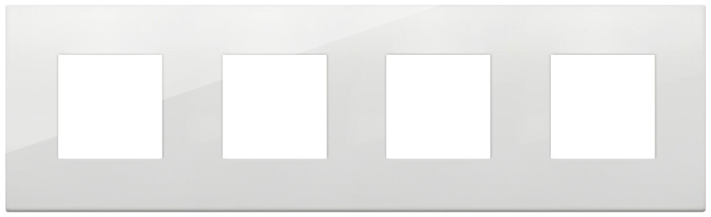 Накладка CLASSIC на 8 модулей (2+2+2+2) расстояние между центрами 71мм полярная
