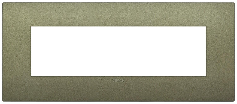 Накладка CLASSIC на 7 модулей зеленая матовая