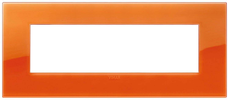 Накладка CLASSIC на 7 модулей Reflex оранжевый