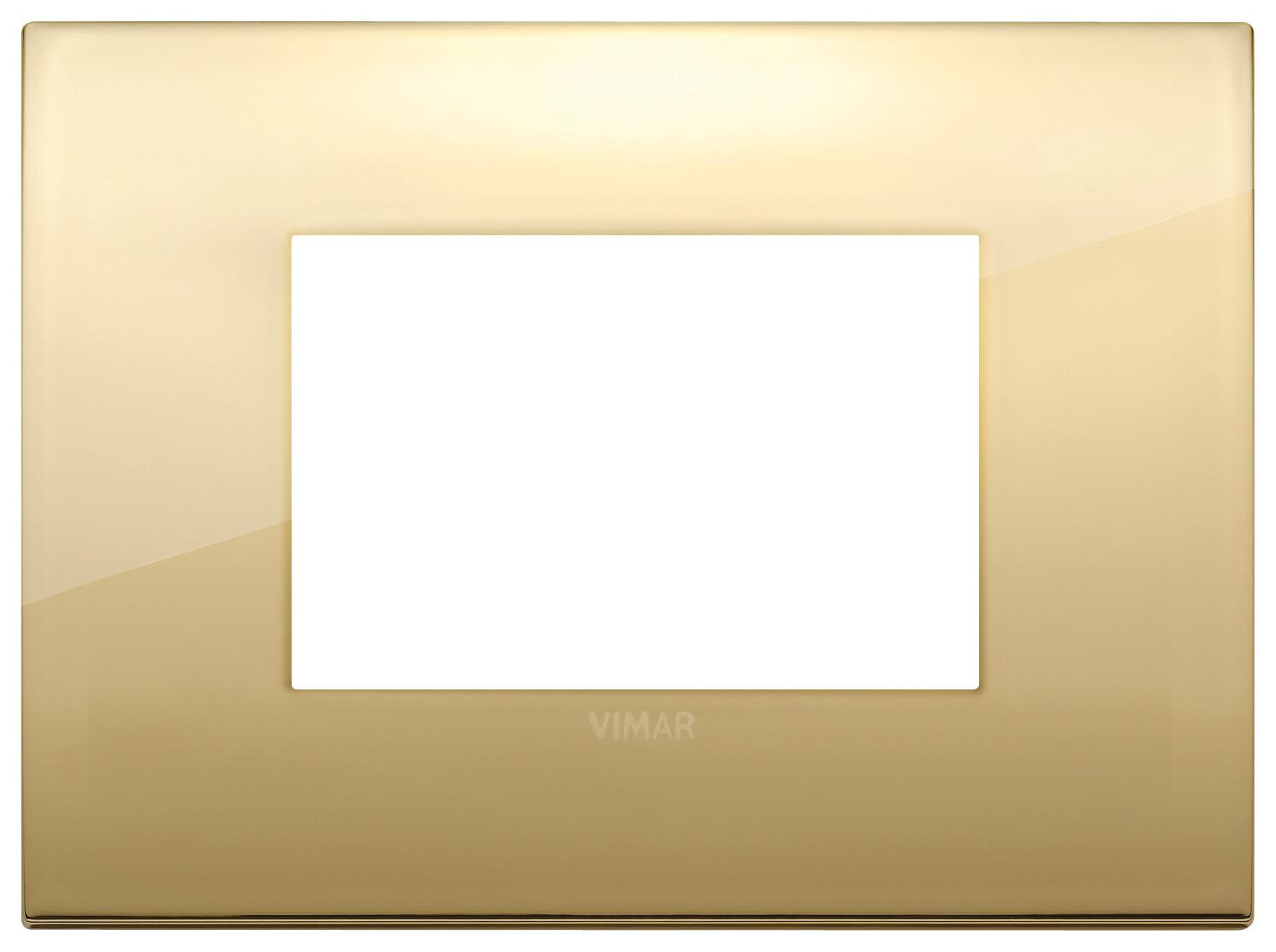 Накладка CLASSIC на 3 модуля золото