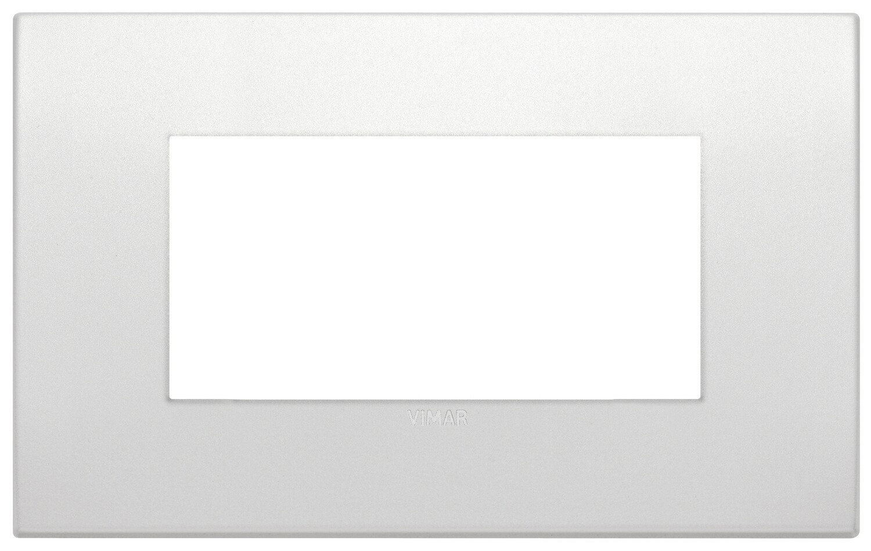 Накладка CLASSIC на 4 модуля жемчужная матовая