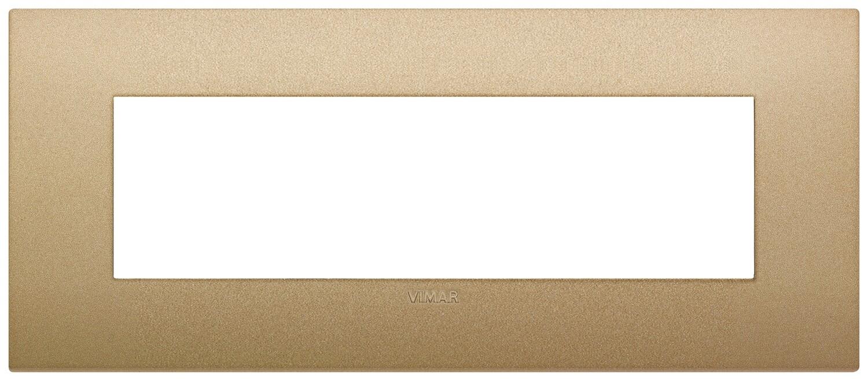 Накладка CLASSIC на 7 модулей золото матовое