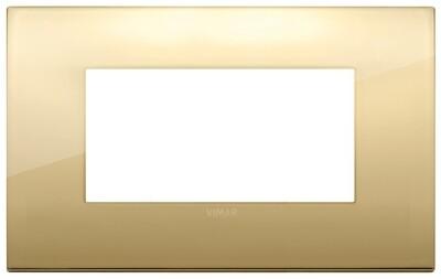 Накладка CLASSIC на 4 модуля золото