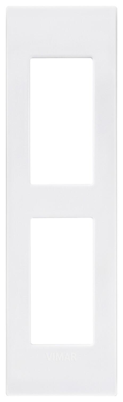 Накладка CLASSIC на 2 модуля для панелей белая