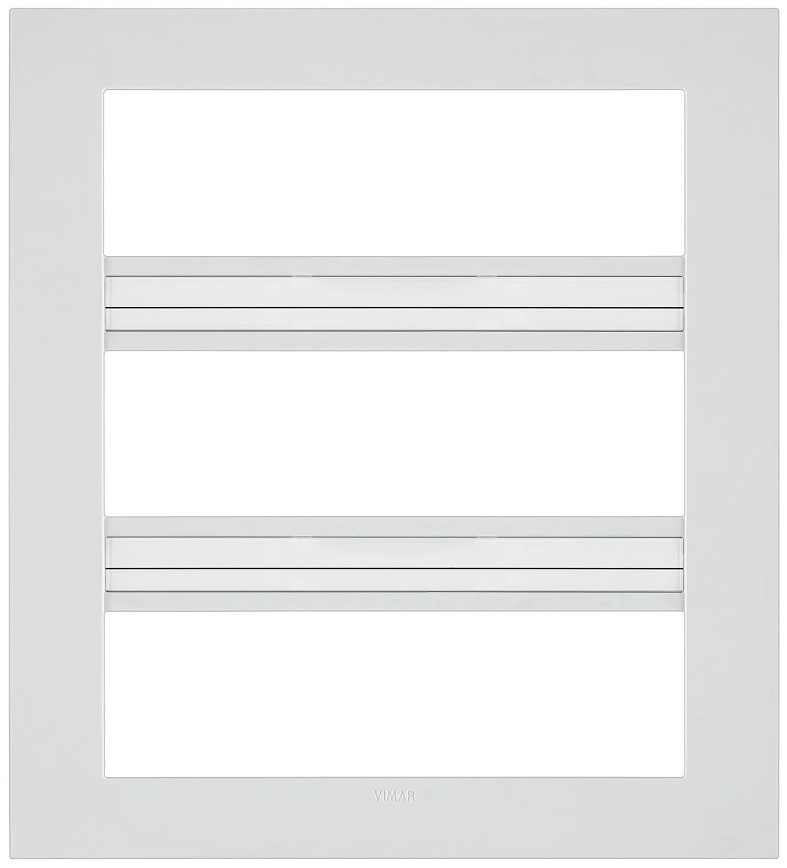 Накладка CLASSIC на 21 модуль белая