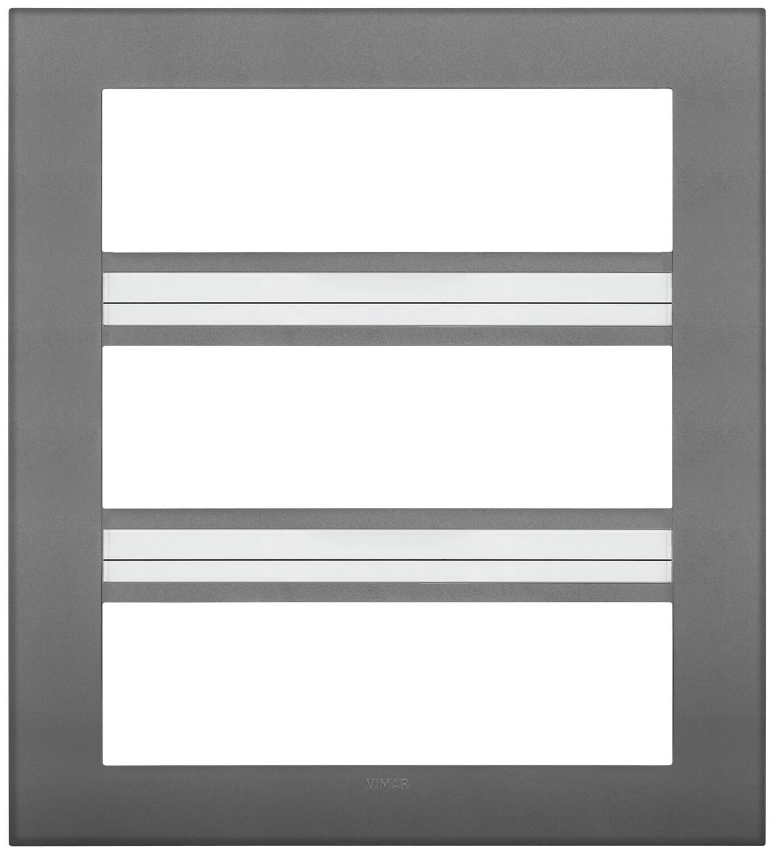 Накладка CLASSIC на 21 модуль серая