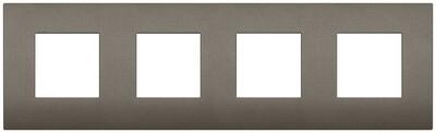 Накладка CLASSIC на 8 модулей (2+2+2+2) расстояние между центрами 71мм  Metal