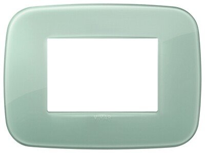 Накладка ROUND на 3 модуля Reflex шалфейная