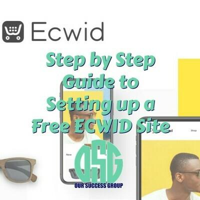 Setting Up A Free Ecwid Site