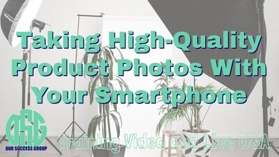 Taking High-Quality Product Photos with Your Smartphone