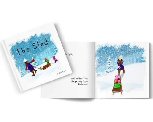 The Sled {Illustrated hardcover gift book}