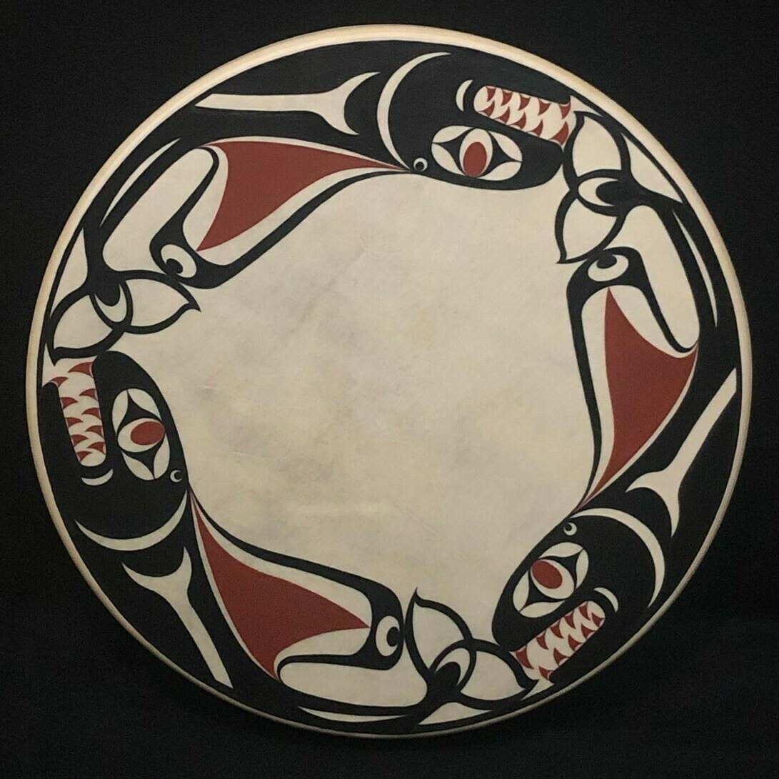 Tripod 20″ Rawhide drum