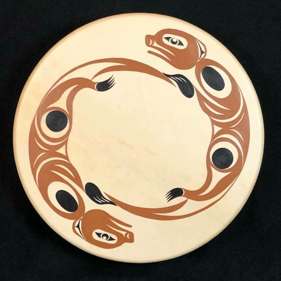 Otters 18″ Rawhide Drum