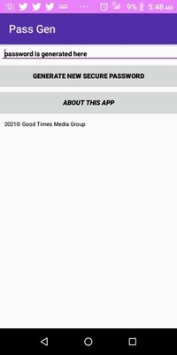 Pass Gen Apk File By Good Times Media Group