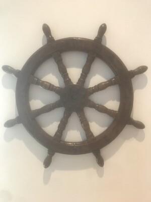 Vintage Ship's Helm