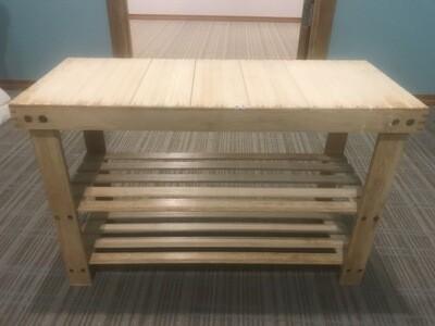 Bamboo Benches Set