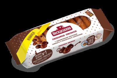 """""""Посиделкино"""" Печенье овсяное с добавлением кусочков темного и молочного шоколада"""