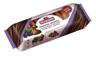 """""""Посиделкино"""" Печенье овсяное с добавлением кусочков шоколада и изюма"""