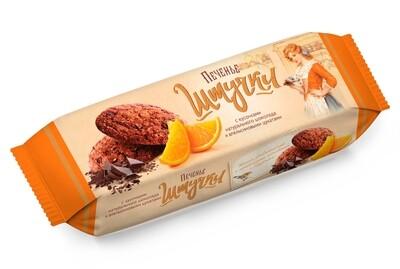 """""""Штучки"""" Печенье сдобное с кусочками натурального шоколада и апельсиновыми цукатами"""